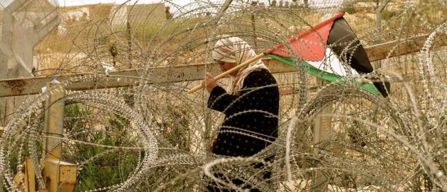 Una donna palestinese nella Striscia di Gaza.