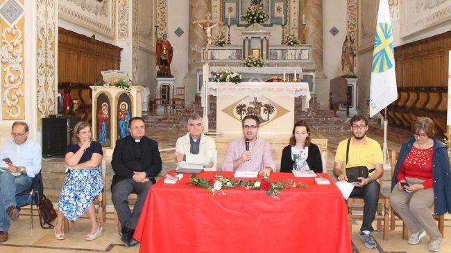 Il presidente dell'AC diocesana (al centro), Francesco Crinelli.