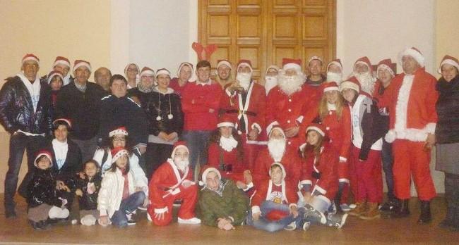 Il gruppo parrocchiale di Maria Ss. Madre della Chiesa a Marsala.