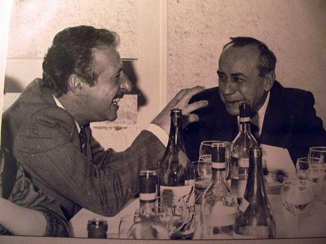 Paolo Borsellino e Leonardo Sciascia.