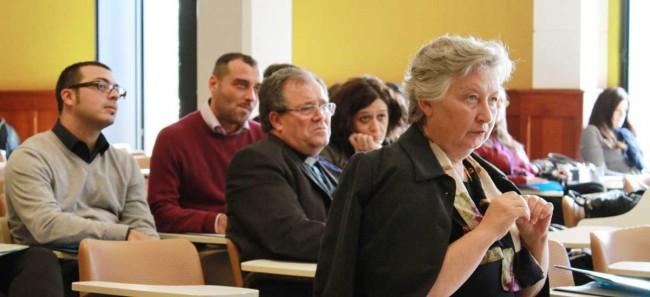 In primo piano: Vilma Angileri, presidente della Fondazione San Vito Onlus.