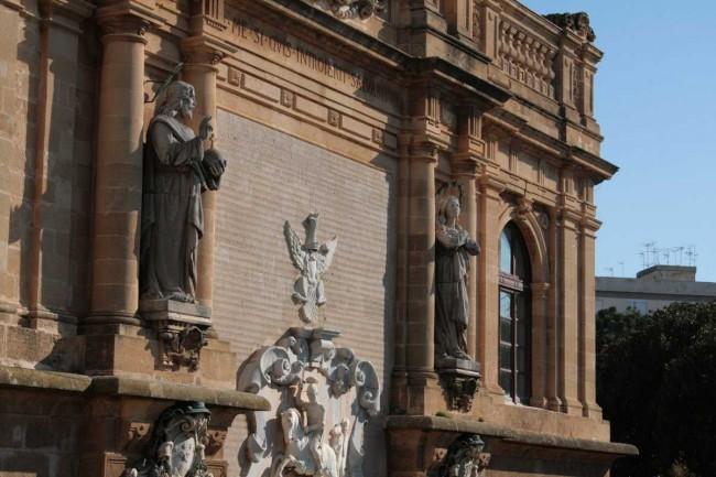 Il portale della Cattedrale.