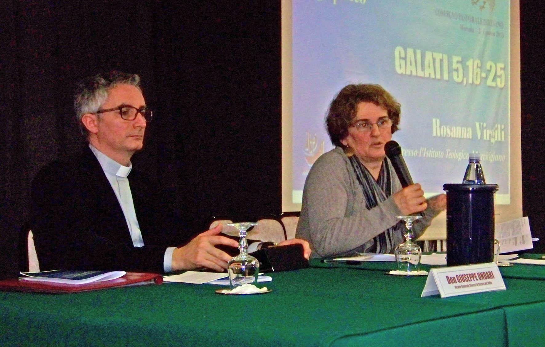 Don Giuseppe Undari e Rosanna Virgili