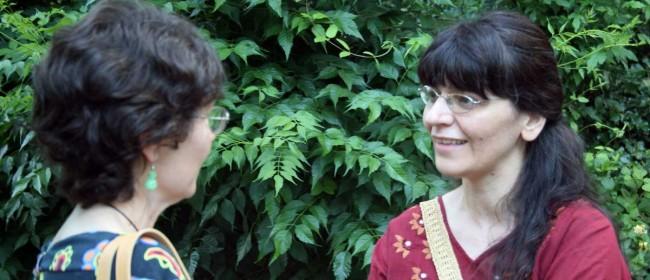 Cristina Molfetta, a destra nella foto.