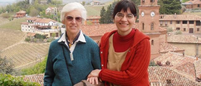 Maria Cristina Molfetta, a destra nella foto.