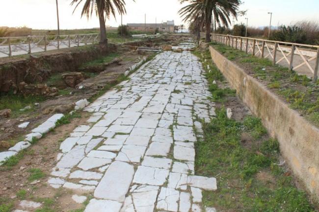Il parco archeologico di Marsala.