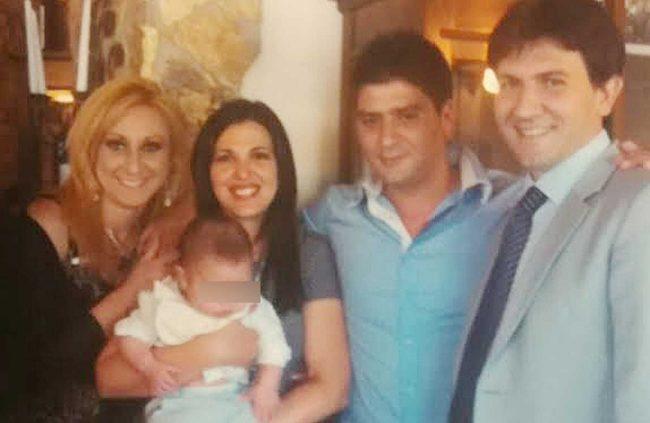 Figli, nuore e nipoti di Mimmo Errante Parrino.