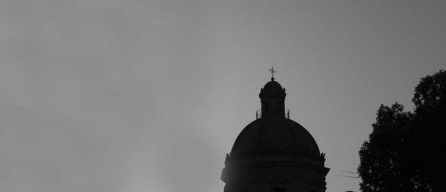 La cupola della parrocchia.