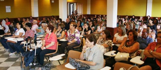 La platea degli insegnanti di religione nel primo incontro del corso di formazione.