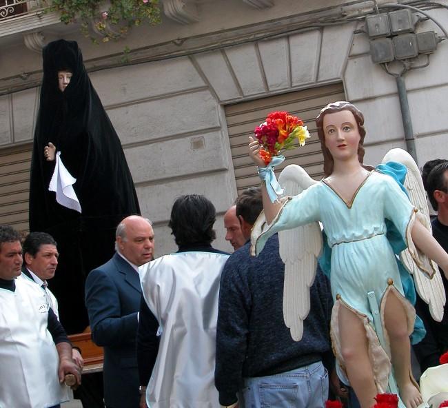 Un momento dell'Aurora a Castelvetrano (foto di Enzo Agate)