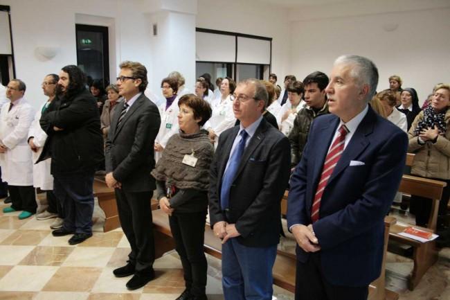 In questa foto si riconoscono: il sindaco di Castelvetrano Felice Errante e il direttore del Dipartimento materno-infantile dell'Asp di Trapani, Giovanni Bavetta.