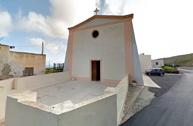 La chiesa della Margana a Pantelleria.