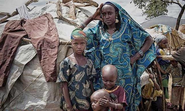Rifugiati in Cameroun (foto UNHCR).