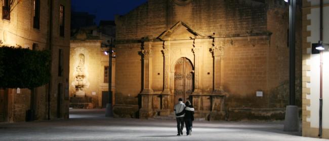 La chiesa madre di Castelvetrano.