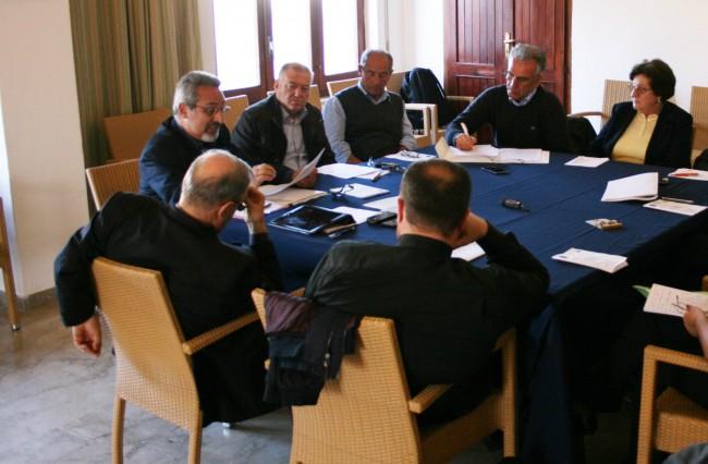 Un momento della riunione della Migrantes a Pantelleria.