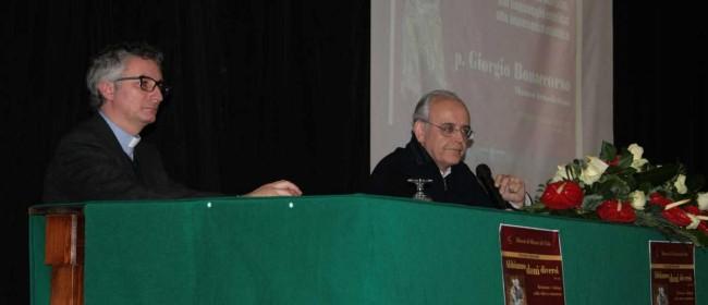 Il Vicario generale don Giuseppe Undari con padre Giorgio Bonaccorso.