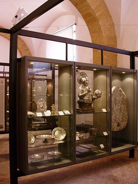Uno scorcio dell'interno del museo.