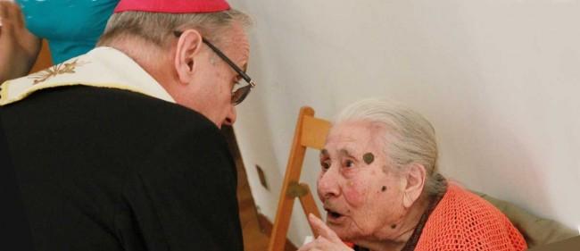 Maria Salvaggio, 102 anni.