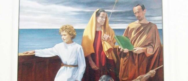 Un particolare del quadro di Burney.