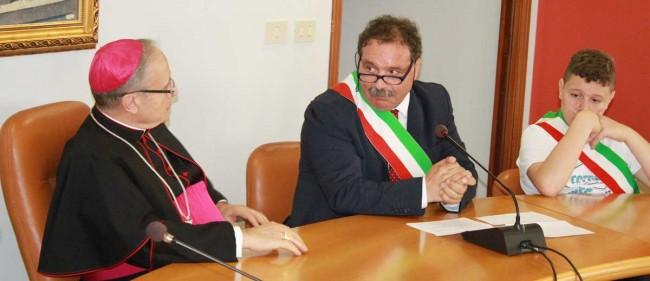 ll sindaco Michele Saitta.