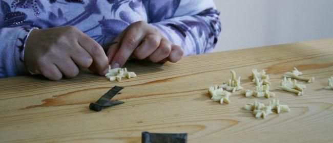 La preprazione dei pani di san Biagio.