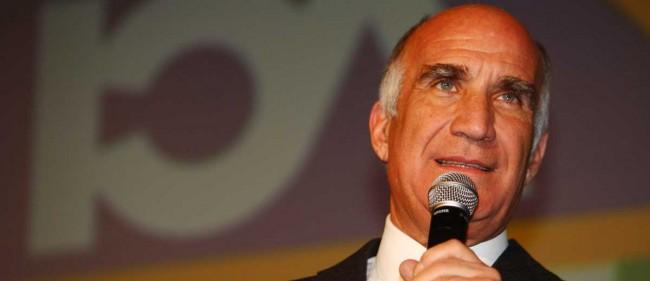Il presidente dell'Automobil Club, Angelo Sticchi Damiani.