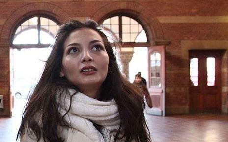 L'attrice Tasneem Fared.