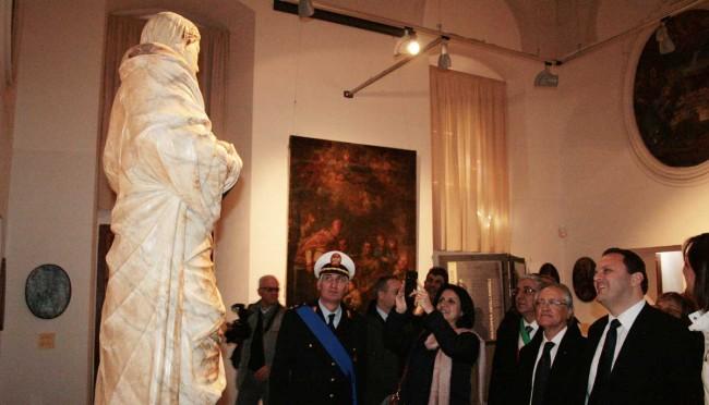 Il sindaco di Betlemme in visita al polo museale di Salemi.