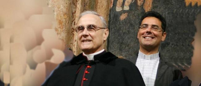 Il Vescovo col nuovo Vicario generale, don Vincenzo Greco.