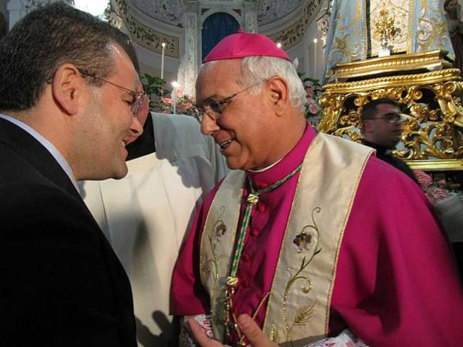 Monsignor Vincenzo Bertolone, Arcivescovo di Catanzaro-Squillace.