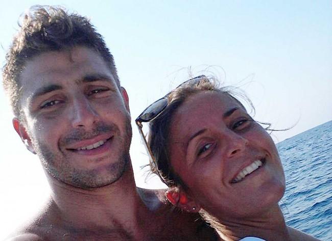 Antony Ferro con Emilia Parrinello.