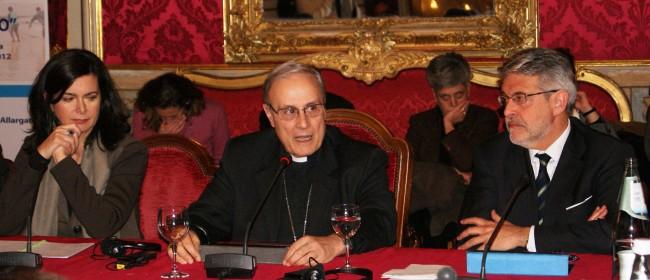 Laura Boldrini, il Vescovo e Giovanni Tumbiolo